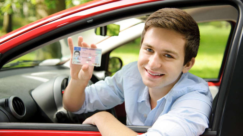 Führerscheinklasse wählen